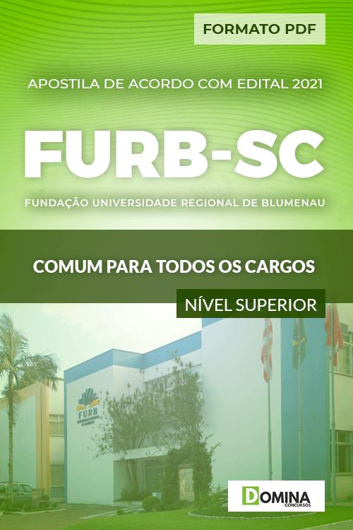 Apostila FURB SC 2021 Comum Todos os Cargos nv Superior