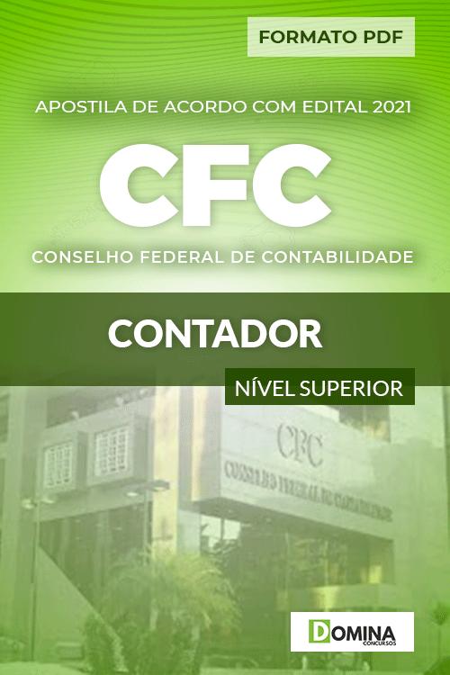 Apostila Concurso Público CFC 2021 Contador Consulplan