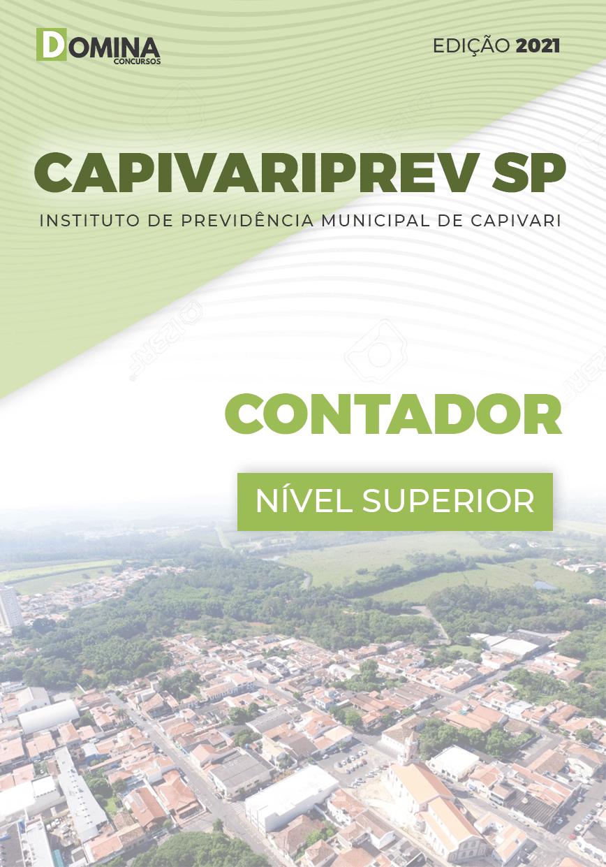 Apostila Concurso Público CAPIVARIPREV SP 2021 Contador