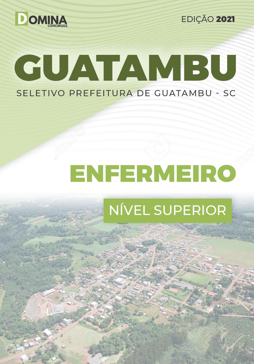 Apostila Concurso Guatambu SC 2021 Enfermeiro