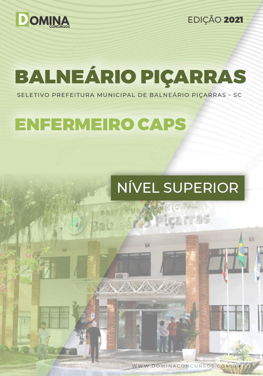 Apostila Pref Balneário Piçarras SC 2021 Enfermeiro CAPS