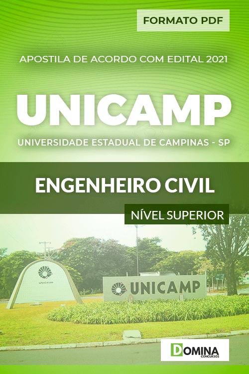 Apostila Concurso UNICANP 2021 Engenheiro Civil