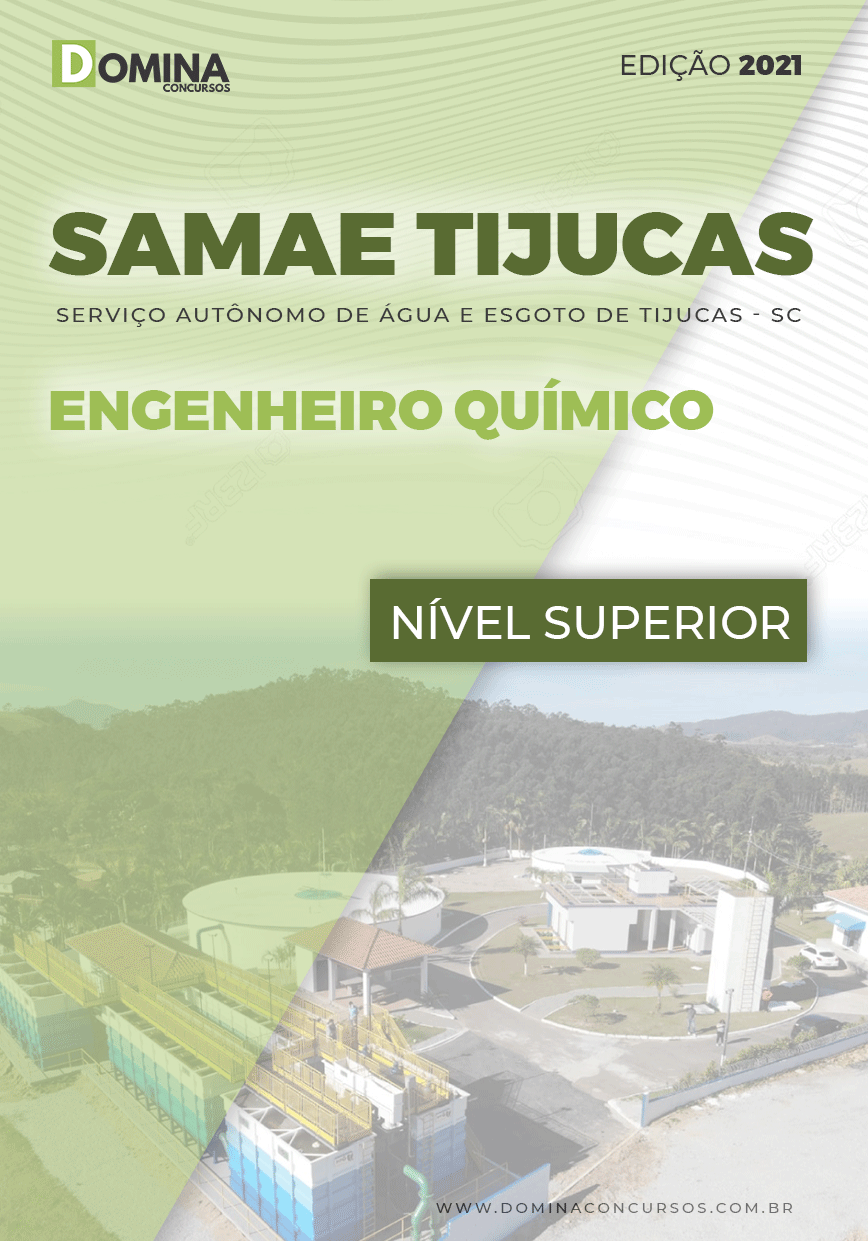 Apostila Samae Tijucas SC 2021 Engenheiro Químico