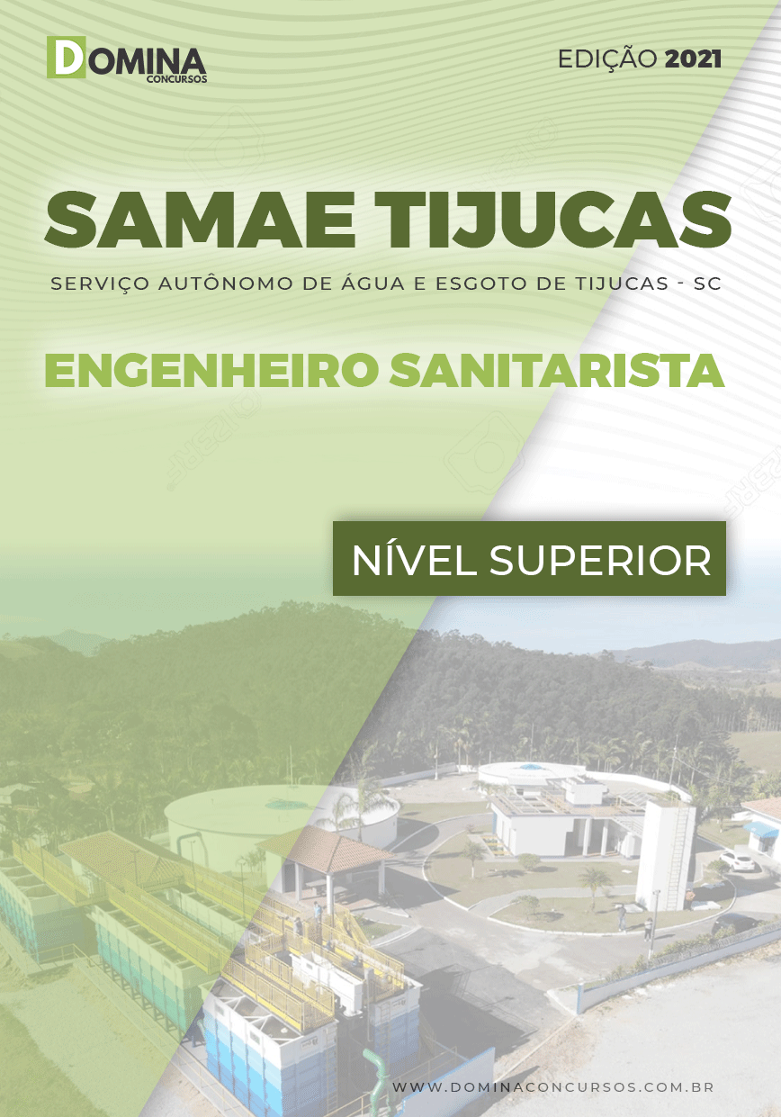 Apostila Samae Tijucas SC 2021 Engenheiro Sanitarista