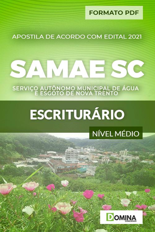 Apostila Concurso SAMAE Nova Trento SC 2021 Escriturário