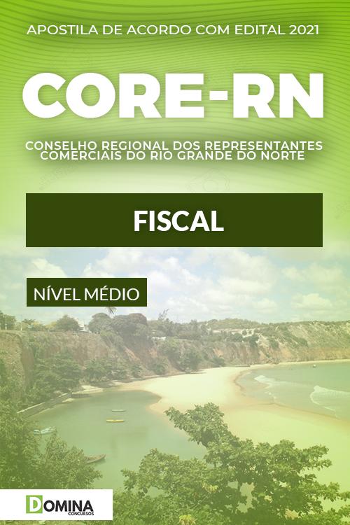 Apostila Concurso Público CORE RN 2021 Fiscal