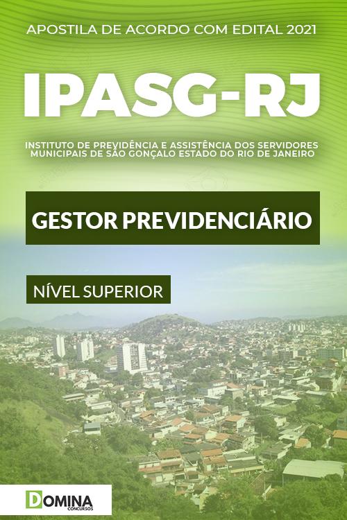 Apostila Concurso IPASG RJ 2021 Gestor Previdenciário