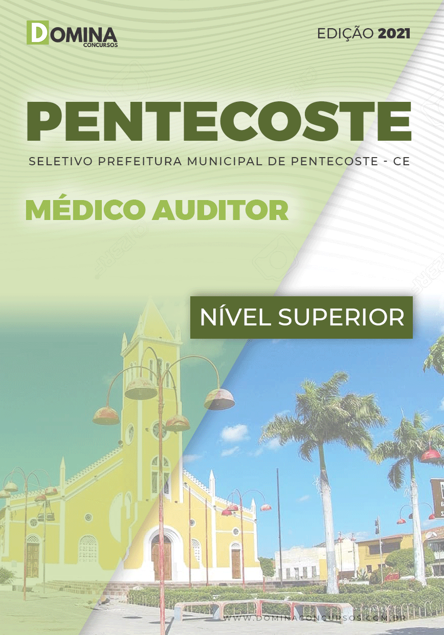 Apostila Prefeitura Pentecoste CE 2021 Médico Auditor