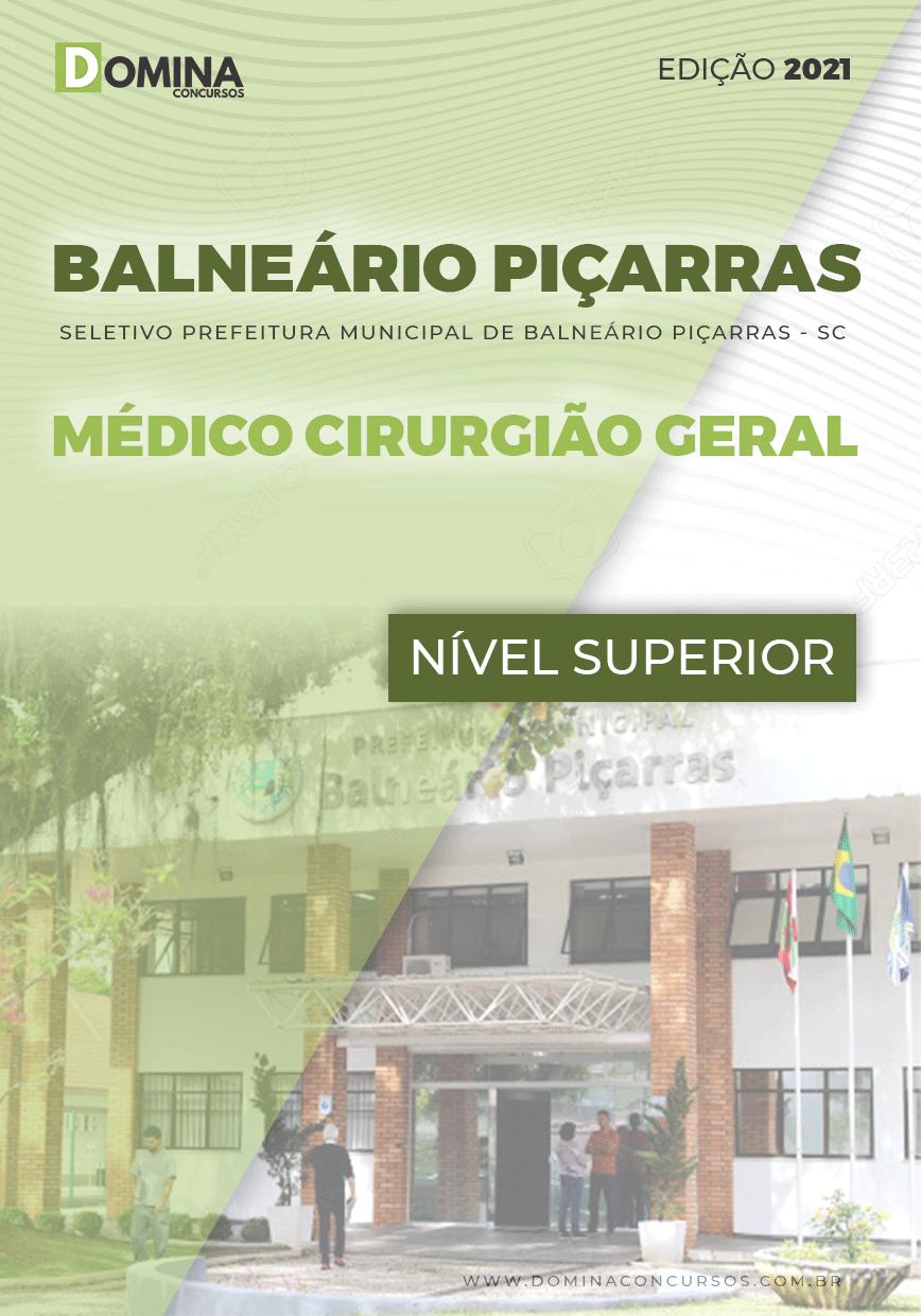 Apostila Pref Balneário Piçarras SC 2021 Médico Cirurgião Geral