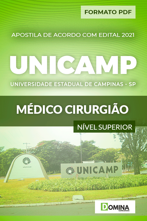 Apostila Concurso UNICANP 2021 Médico Cirurgião