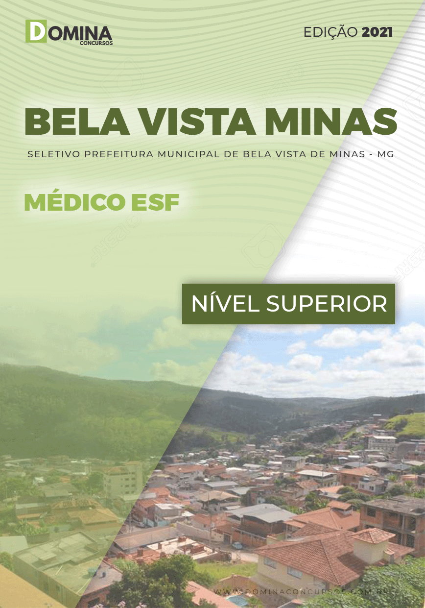 Apostila Pref Bela Vista de Minas MG 2021 Médico ESF