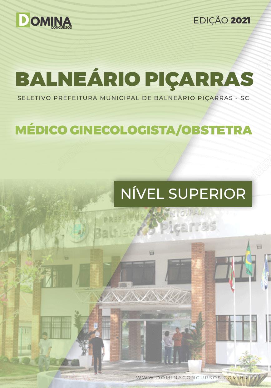 Apostila Balneário Piçarras SC 2021 Médico Ginecologista Obstetra