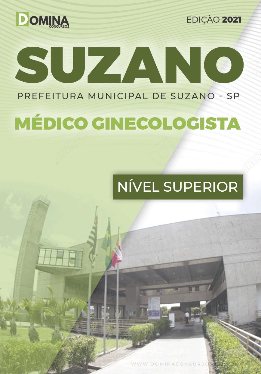 Apostila Concurso Suzano SP 2021 Médico Ginecologista
