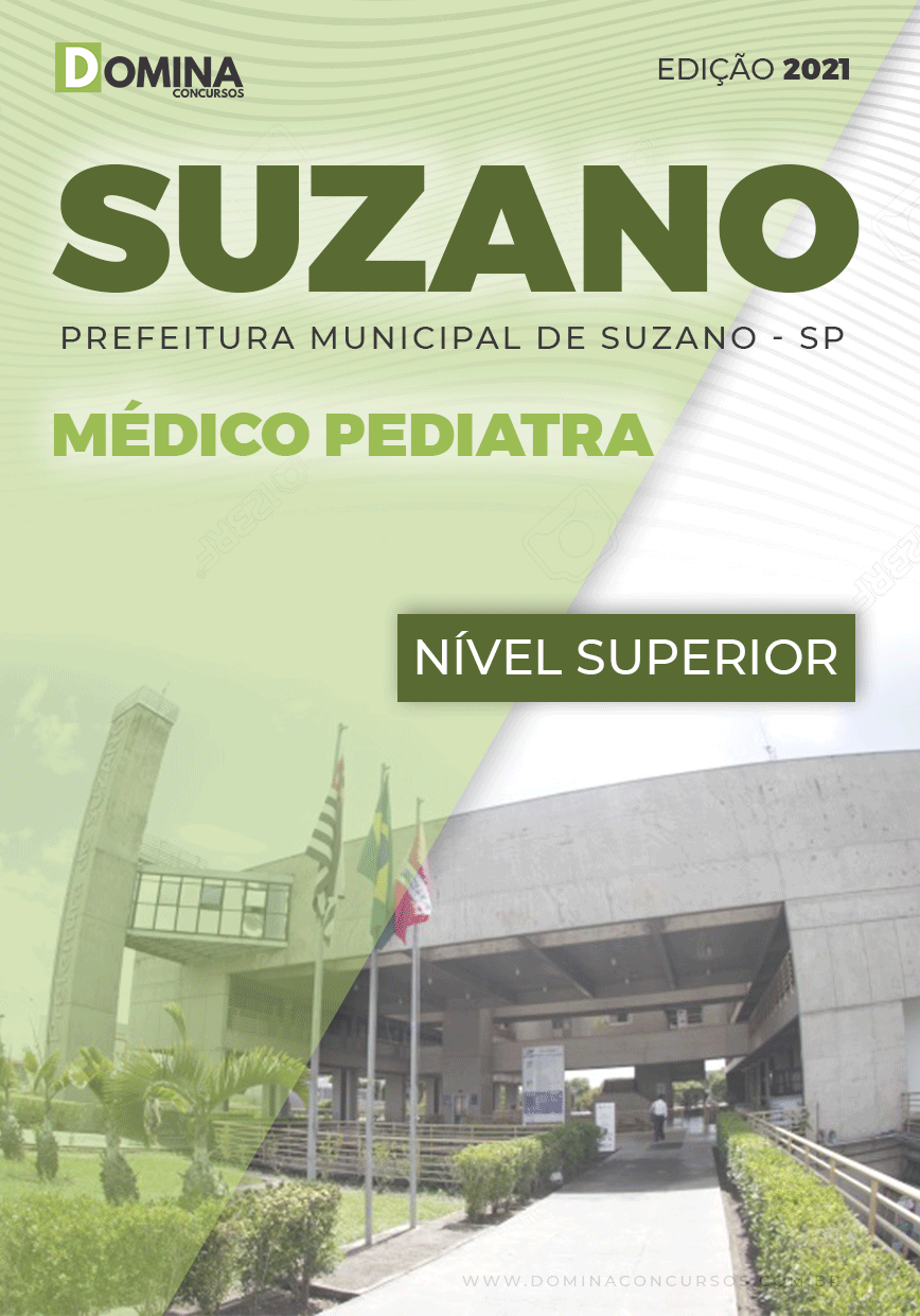 Apostila Concurso Suzano SP 2021 Médico Pediatra