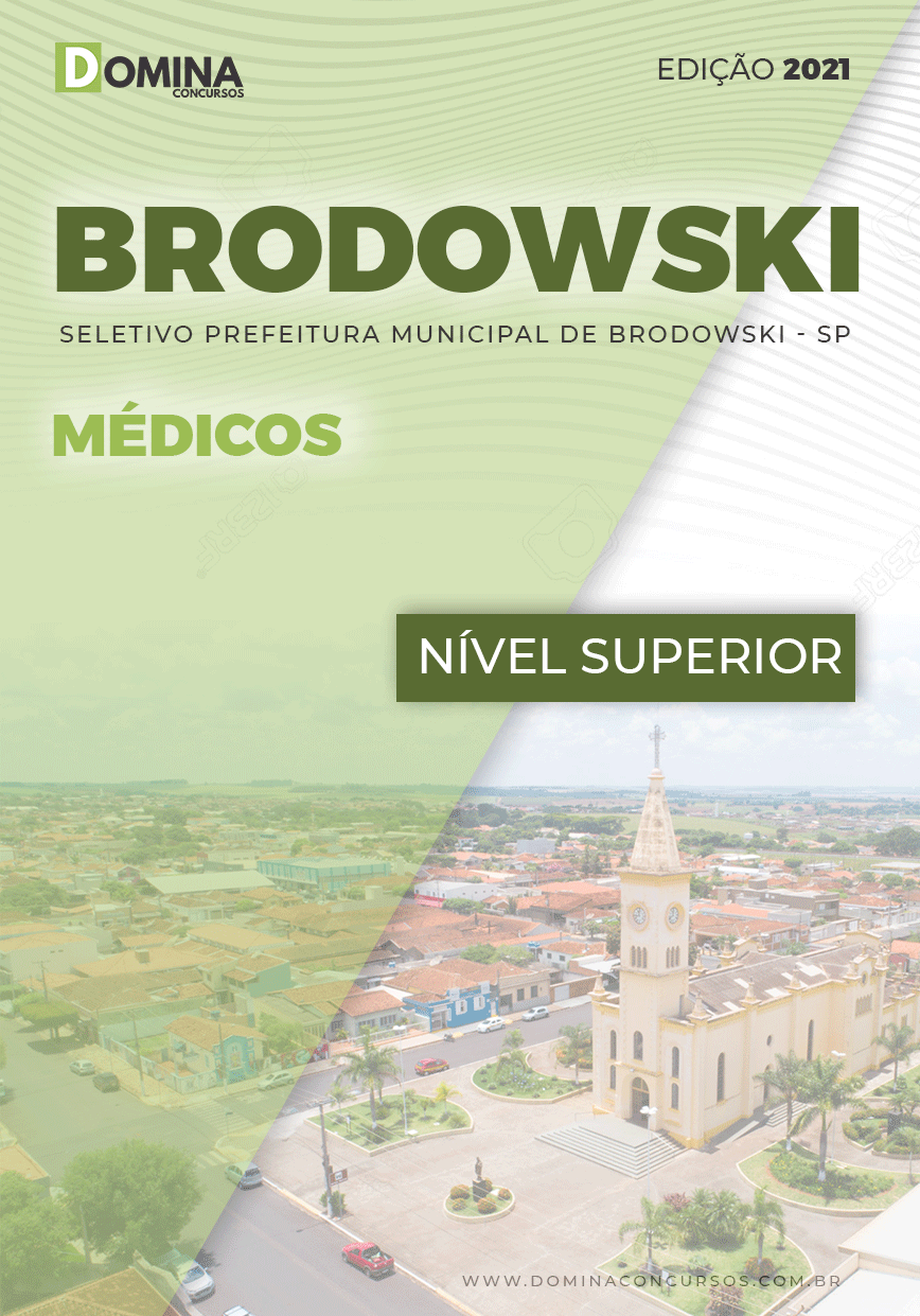 Apostila Processo Seletivo Pref Brodowski SP 2021 Médicos