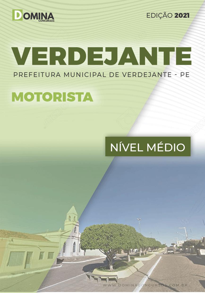 Apostila Concurso Pref Verdejante PE 2020 Motorista