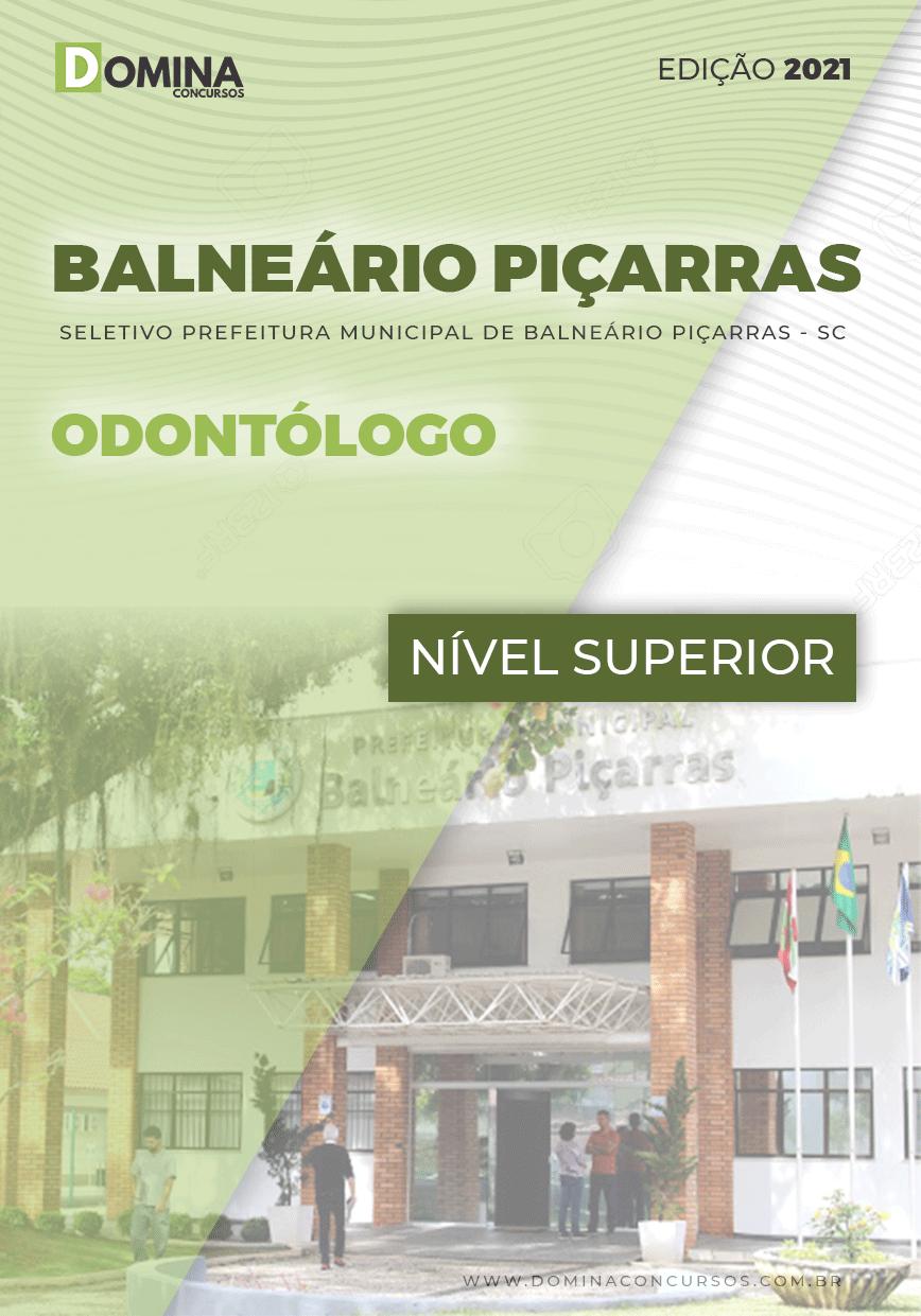 Apostila Concurso Pref Balneário Piçarras SC 2021 Odontólogo