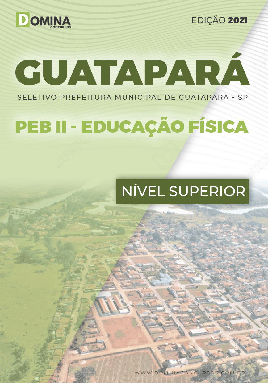 Apostila Guatapará SP 2021 PEB II Educação Física