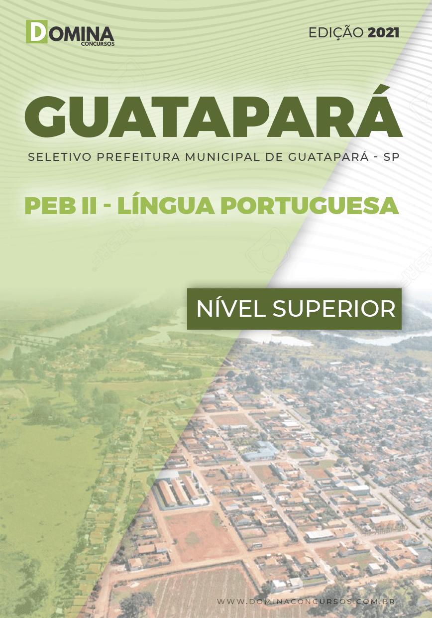 Apostila Guatapará SP 2021 PEB II Língua Portuguesa