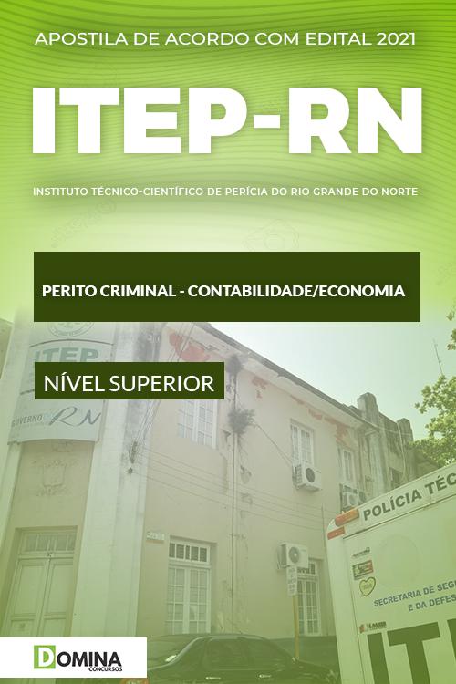 Apostila ITEP RN 2021 Perito Contabilidade Economia
