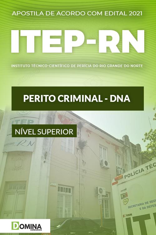 Apostila Concurso ITEP RN 2021 Perito Criminal DNA