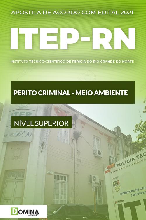 Apostila Concurso ITEP RN 2021 Perito Meio Ambiente