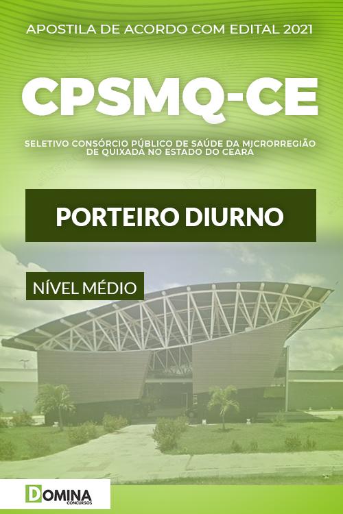 Apostila Quixadá CE CPSMQ 2021 Porteiro Diurno