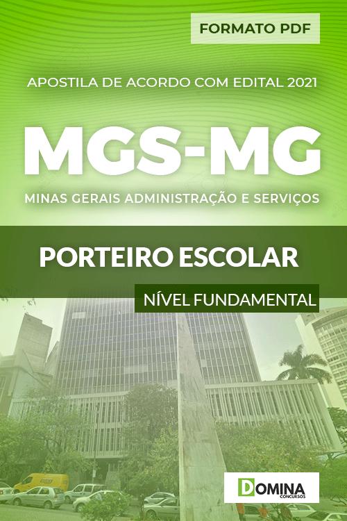 Apostila Concurso Seletivo MGS MG 2021 Porteiro Escolar