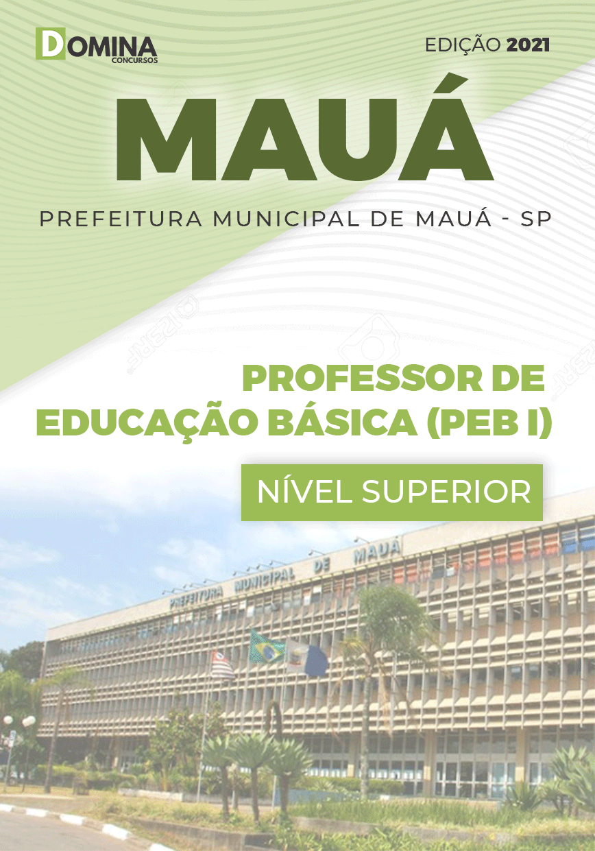 Apostila Mauá SP 2021 Professor de Educação Básica I
