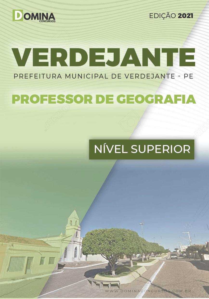 Apostila Concurso Verdejante PE 2020 Professor Geografia