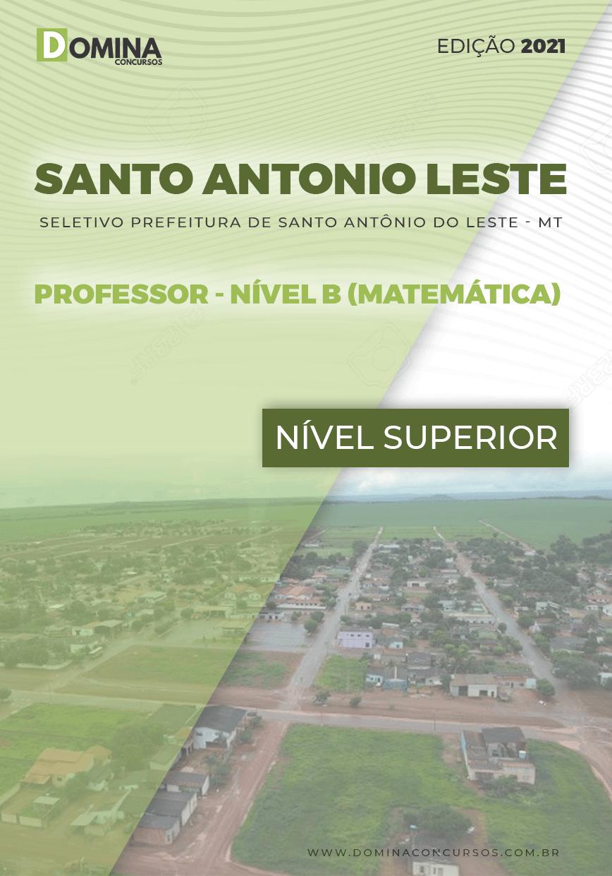 Apostila Santo Antônio Leste MT 2021 Professor Matemática