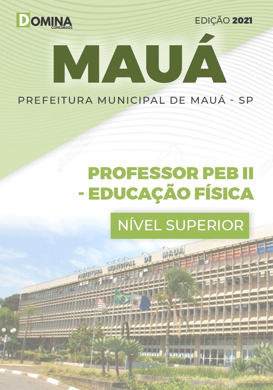 Apostila Concurso Mauá SP 2021 Professor Educação Física