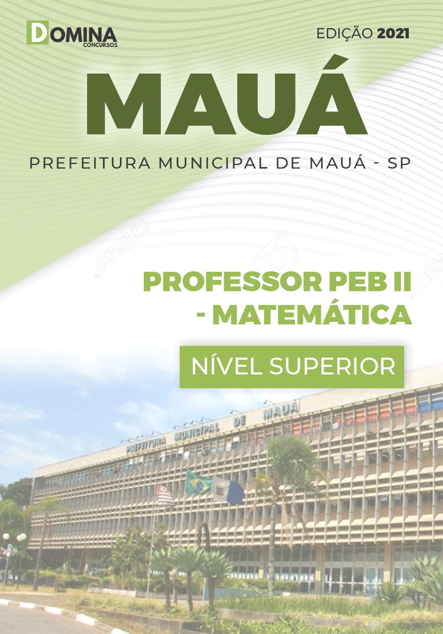 Apostila Concurso Mauá SP 2021 Professor de Metemática