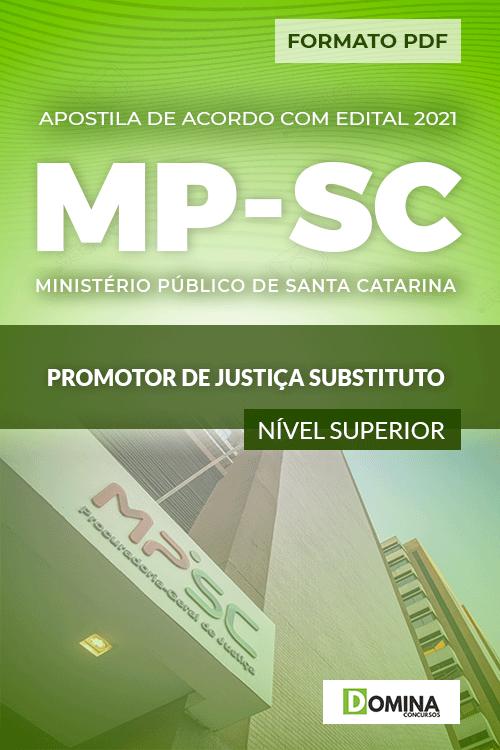 Apostila Concurso MP SC 2021 Promotor de Justiça Substituto