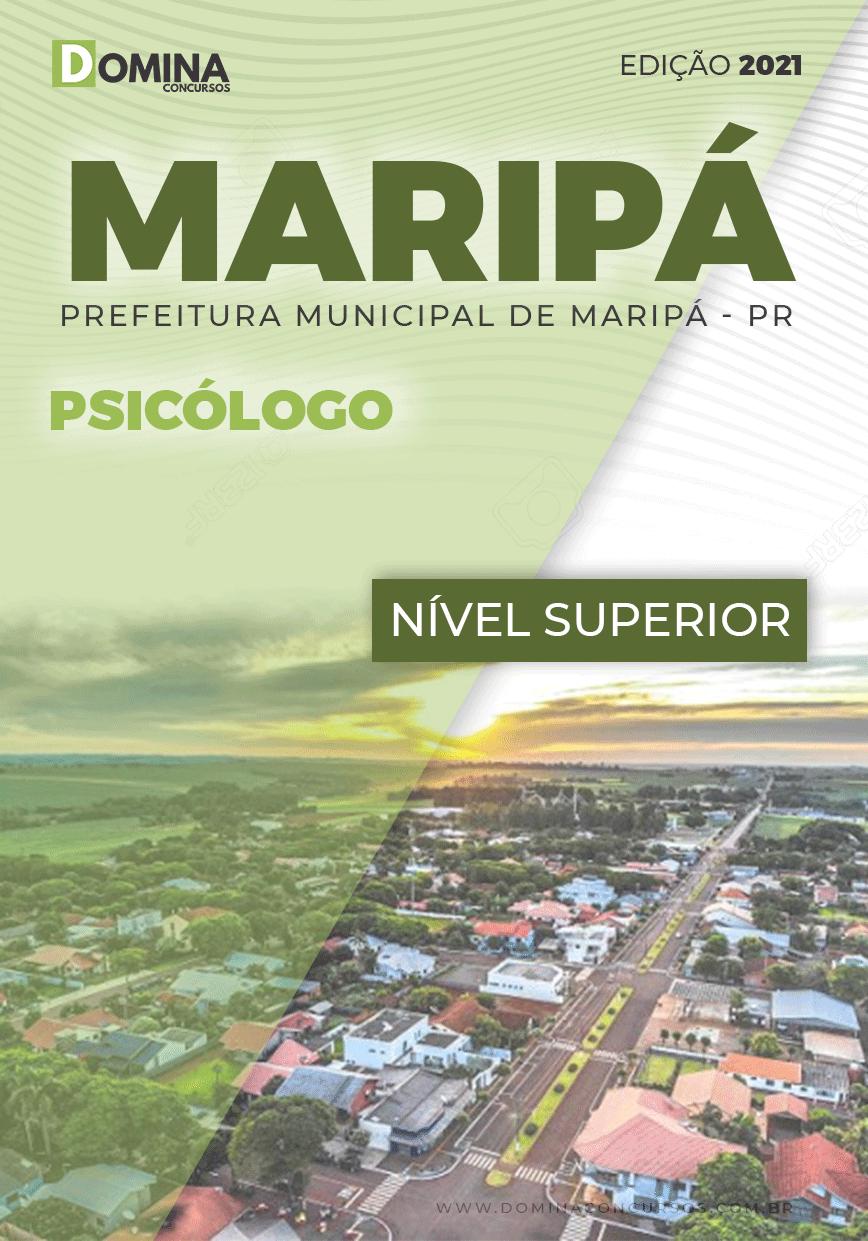 Apostila Concurso Pref Maripá PR 2021 Psicólogo