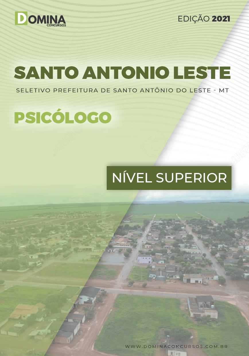 Apostila Pref Santo Antônio Leste MT 2021 Psicólogo