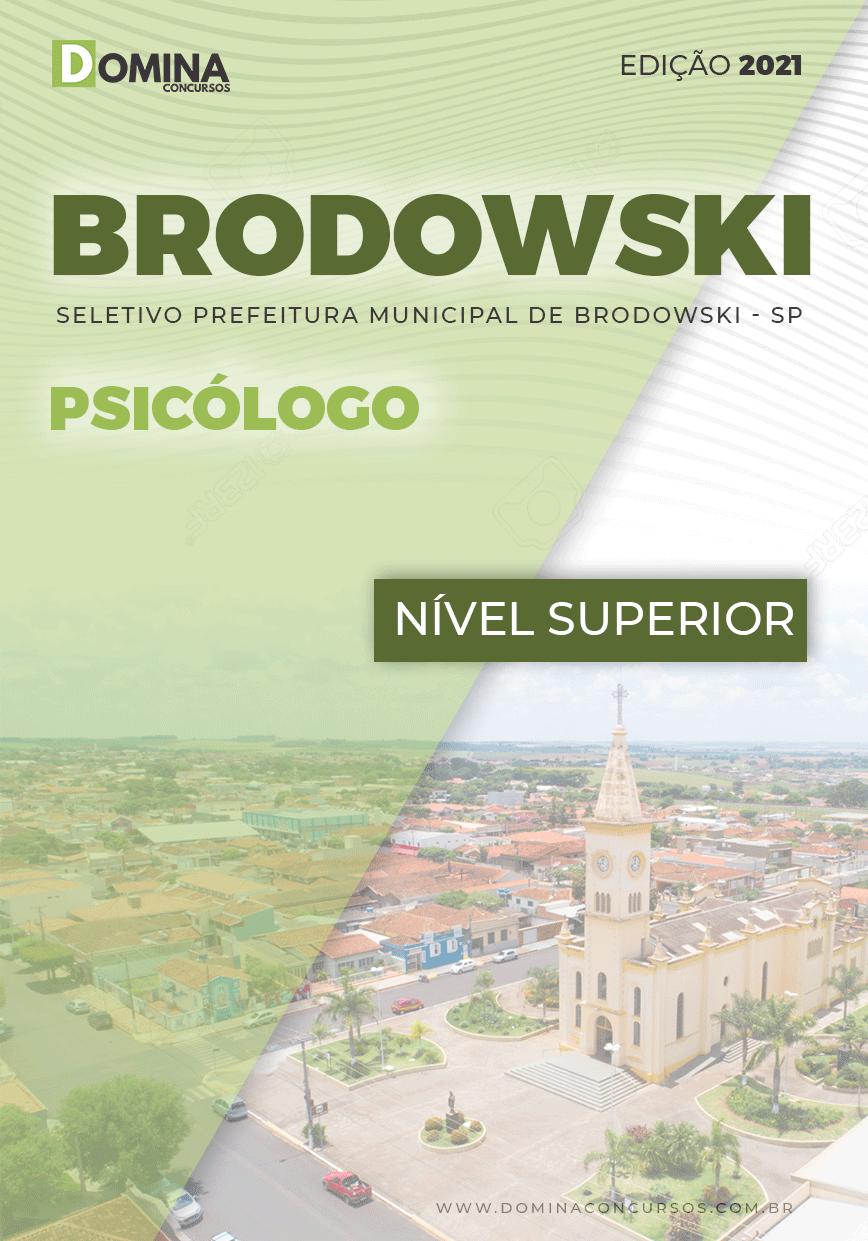 Apostila Processo Seletivo Pref Brodowski SP 2021 Psicólogo