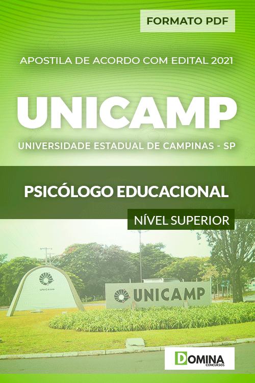 Download Apostila Concurso UNICANP 2021 Psicólogo