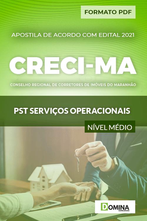 Apostila Concurso CRECI MA 2021 Serviços Operacionais