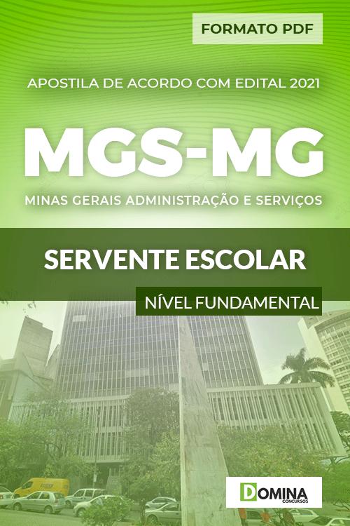 Apostila Concurso Seletivo MGS MG 2021 Servente Escolar