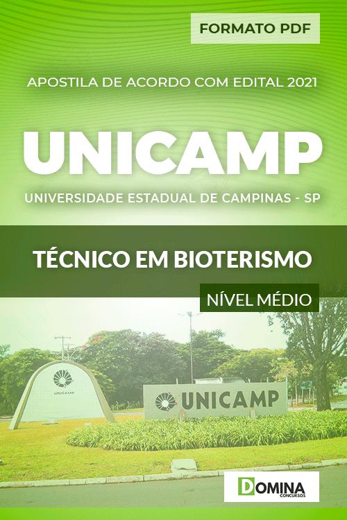 Apostila Concurso UNICANP 2021 Técnico em Bioterismo
