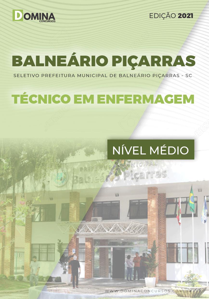 Apostila Balneário Piçarras SC 2021 Técnico em Enfermagem