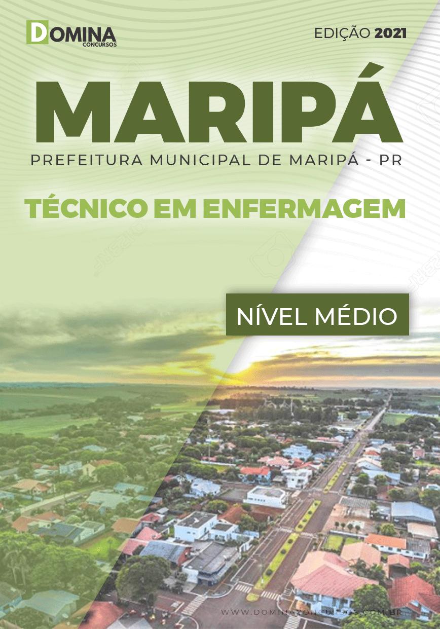 Apostila Concurso Maripá PR 2021 Técnico em Enfermagem