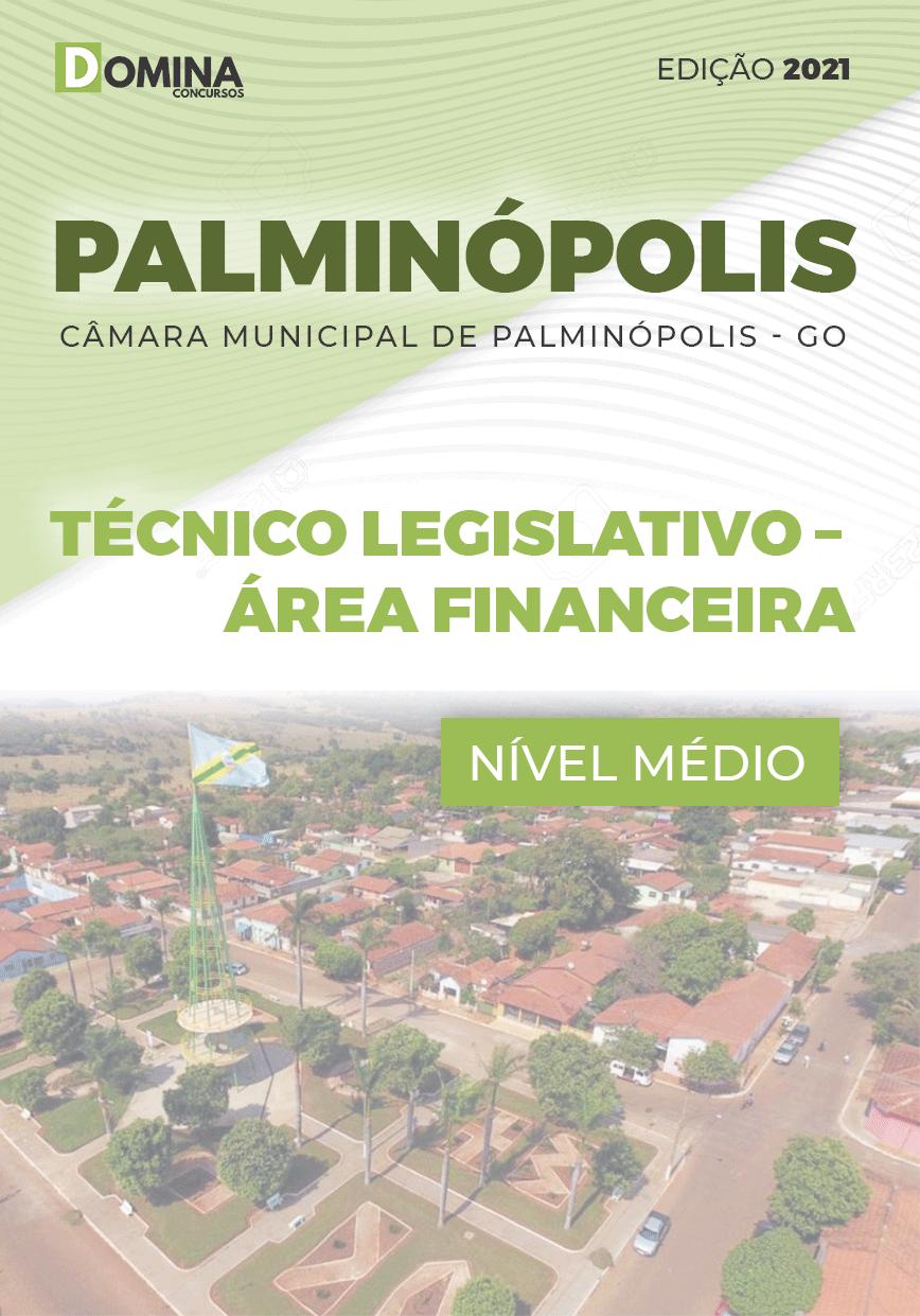 Apostila Câmara Palminópolis GO 2021 Técnico Legislativo Financeira
