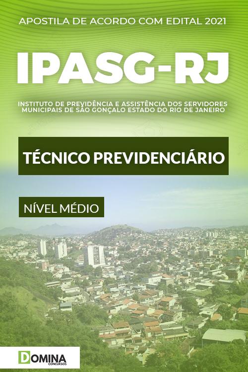 Apostila Concurso IPASG RJ 2021 Técnico Previdenciário