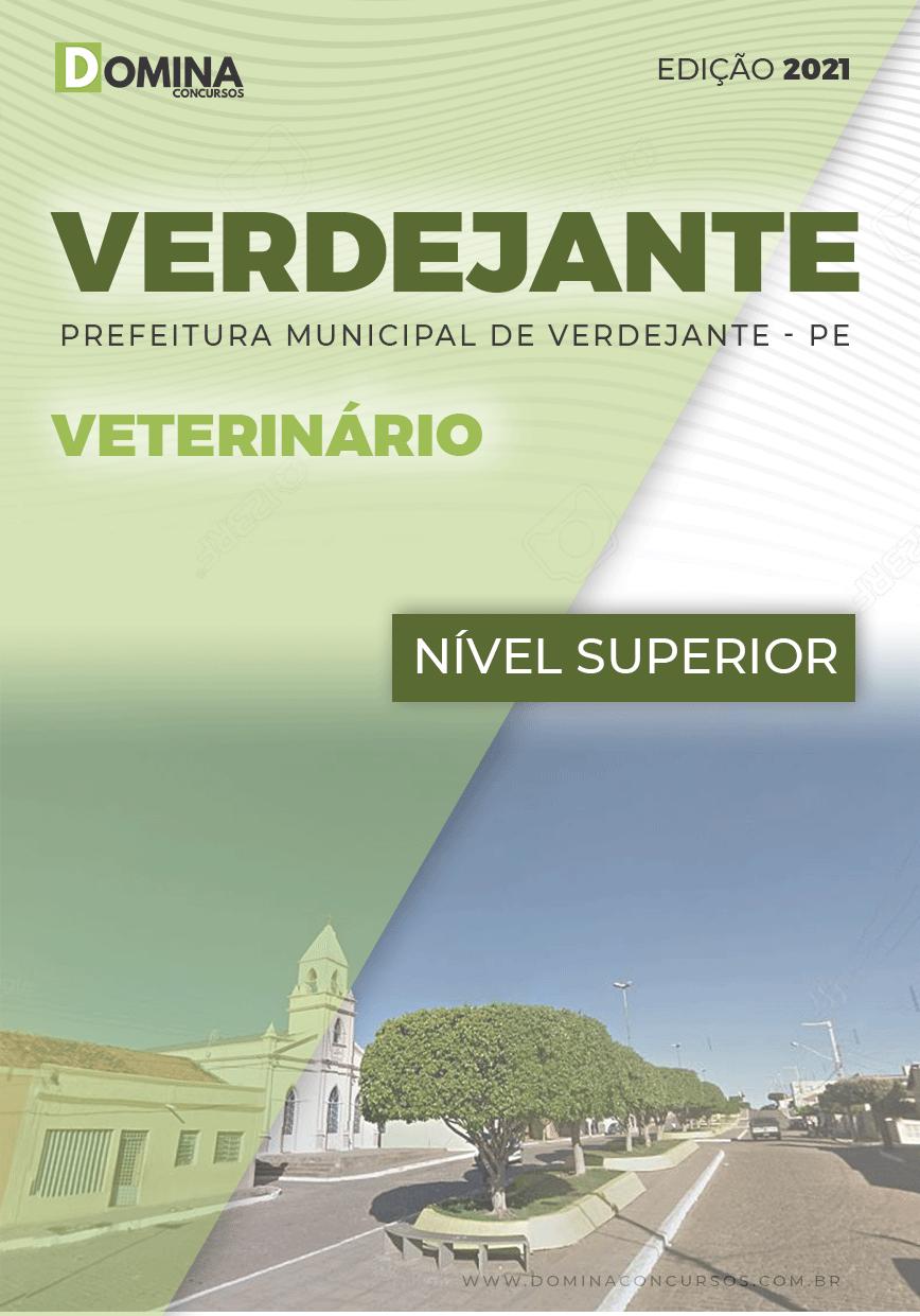 Apostila Concurso Verdejante PE 2020 Veterinário