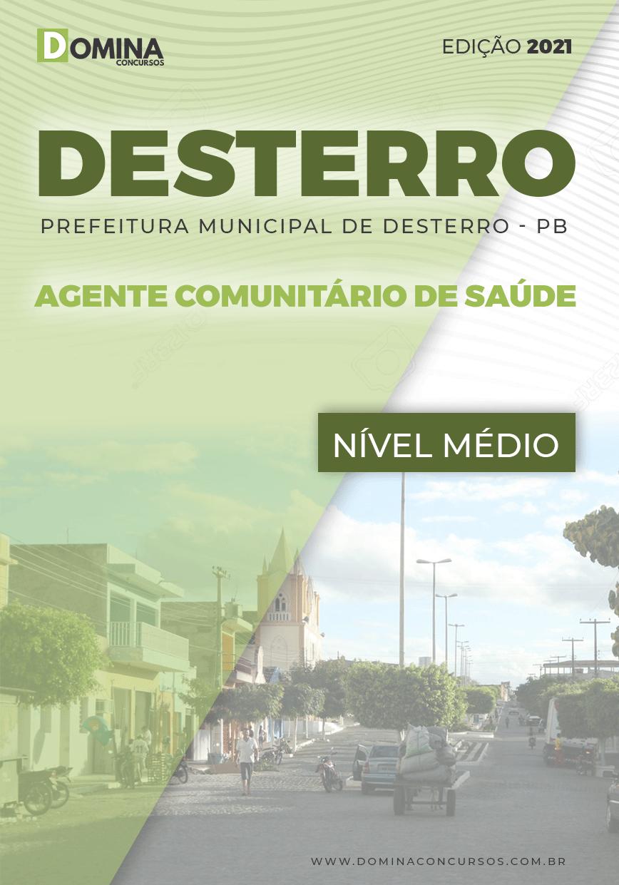Apostila Pref Desterro PB 2021 Agente Comunitário Saúde