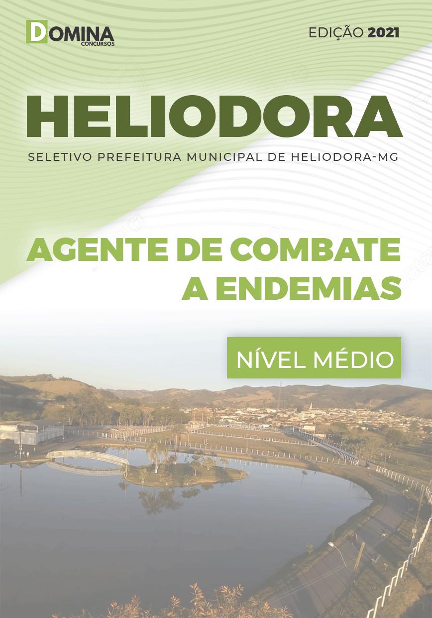 Apostila Pref Heliodora MG 2021 Agente de Combate a Endemias