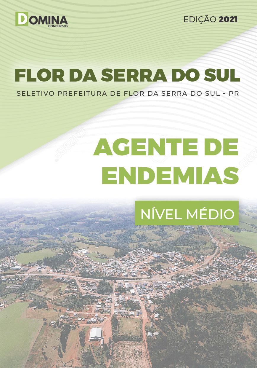 Apostila Pref Flor Serra Sul PR 2021 Agente de Endemias