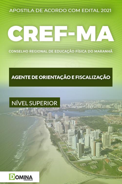 Apostila CREF 21 MA 2021 Agente Orientação e Fiscalização